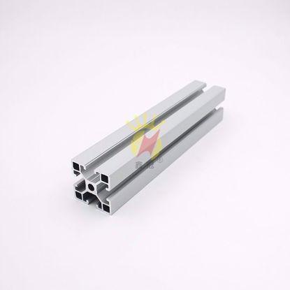 图片 电泳喷砂氧化银白 工业型材
