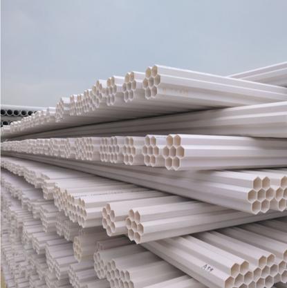 PVC-U埋地式通信保护套管系列采用PVC塑料制造,具有强度高、韧性好、绝缘、难燃、使用安全等特点。 主要用于电气设备内部布线,可以对设备中的导线起机械防护和电器保护作用,使用产品后,配线方便,布线整齐,安装可靠,便于查找、维修和调换路线。